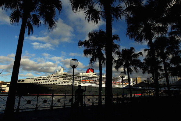 Круизный лайнер Queen Mary 2 прибыл в док Сиднея. Фоторепортаж. Фото: Cameron Spencer/Getty Images