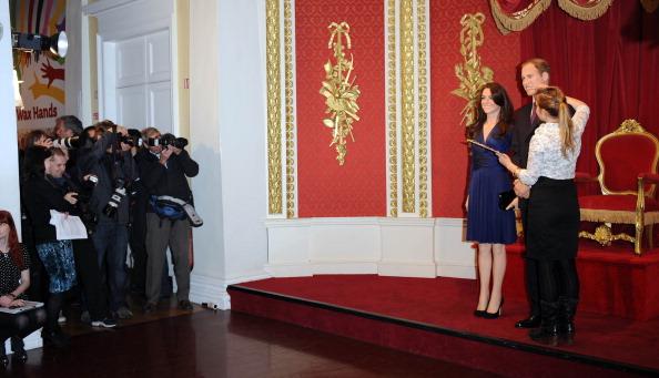 Восковые фигуры принца Уильяма и Кэтрин появились в музее мадам Тюссо в Лондоне. Фоторепортаж. Фото: Stuart Wilson/Getty Images