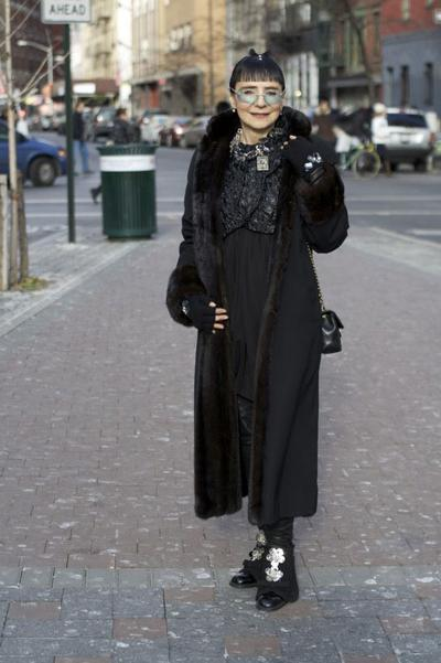 Модные и стильные наряды для пожилых людей. Фото: Ари Сет Коэн (Ari Seth Cohen)/fresher.ru