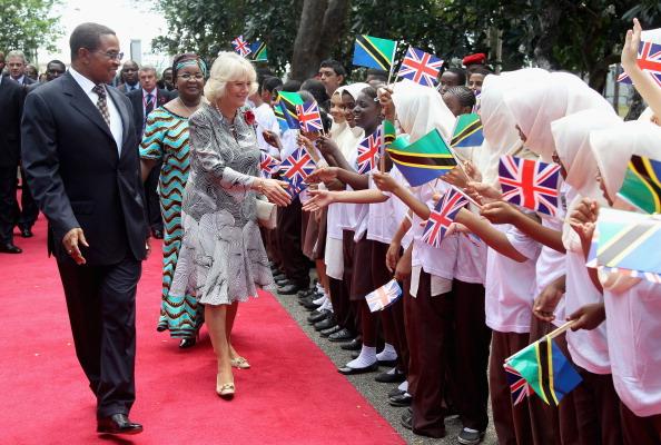 Принц Чарльз и герцогиня Корнуэлльская Камилла в Танзании. Фото: Chris Jackson/Getty Images