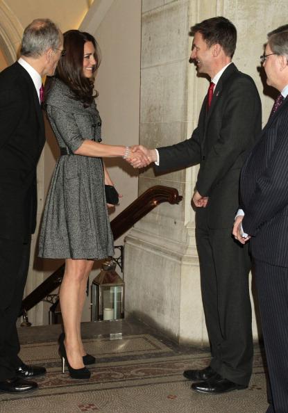 Леди Кэтрин  —  герцогиня Кембриджская, посетила национальную портретную галерею в Лондоне. Фоторепортаж. Фото: Dan Kitwood/Getty Images