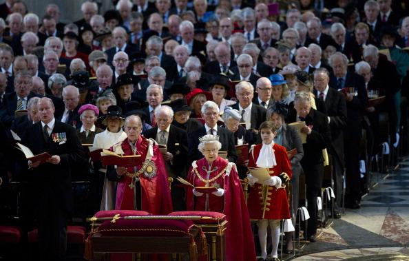 Королева Елизавета II и принц Филипп посетили службу Ордена Британской империи. Фоторепортаж. Фото: Geoff Pugh - WPA Pool /Getty Images