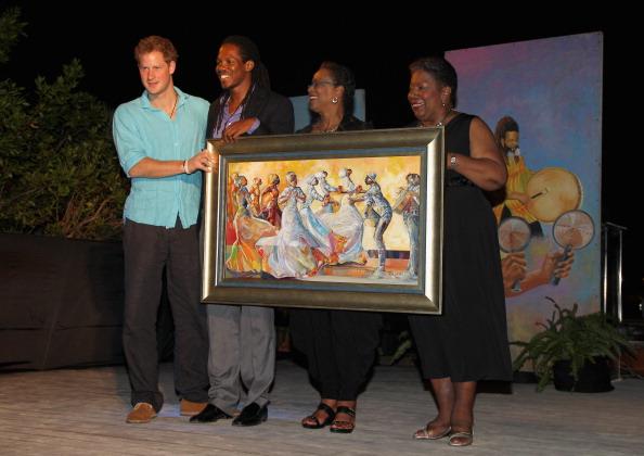 Принц Гарри на Ямайке в Сандалии посетил частный остров. Фоторепортаж. Фото:  Chris Jackson, John Stillwell - Pool/Getty Images