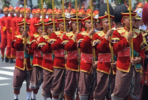 Церемония кремации тайской принцессы Беджаратаны. Фоторепортаж. Фото: PORNCHAI KITTIWONGSAKUL/AFP/Getty Images