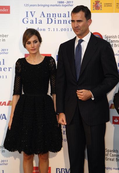 Принц и принцесса Испании Фелипе и Летиция в Лондоне. Фоторепортаж. Фото: Oli Scarff/Getty Images