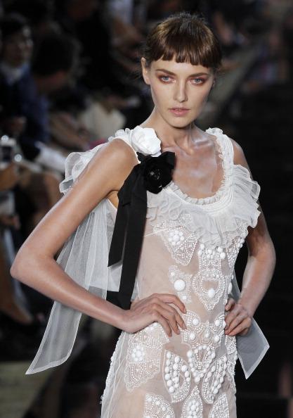 Christian Dior на Неделе моды в Париже: новая коллекция бренда John Galliano. Фото: Pascal Le Segretain/Getty Images