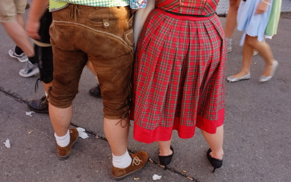 Фоторепортаж  о последнем дне фестиваля пива «Октоберфест» в Мюнхене. Фото: Johannes Simon/Getty Images