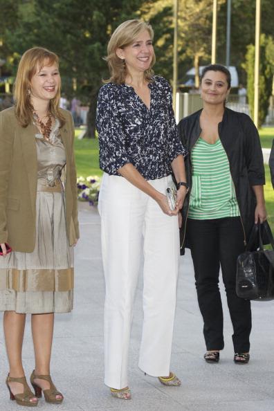 Фоторепортаж о принцессе Испании Кристине на вручении наград Imserso Awards 2011. Фото: Carlos Alvarez/Getty Images