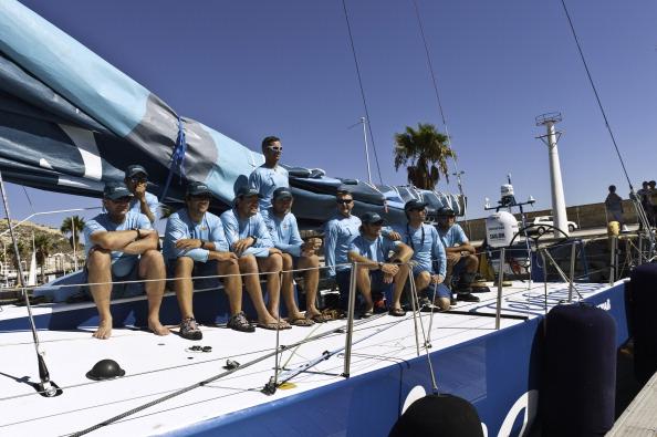 Telefonica.  Фото: Handout/Roman /Volvo Ocean Race via Getty Images