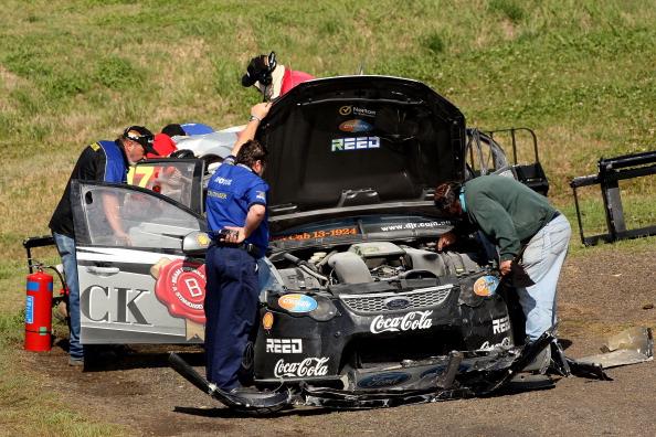 Фоторепортаж  с авторалли Bathurst 1000 серии 10  V8 Supercar. Фото: Matt Blyth/ Robert Cianflone/Getty Images