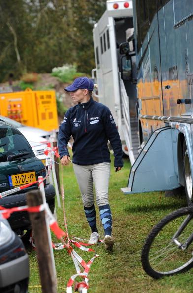 Зара Филлипс на конных соревнованиях  Boekelo-Enschede 2011 в Нидерландах. Фото: Jasper Juinen/Getty Images