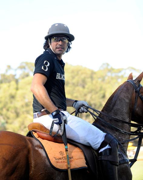 Фоторепортаж о конном поло Veuve Clicquot Polo Classic в Историческом парке в Лос-Анджелесе. Фото: Christopher Polk/ Charley Gallay/ Jason Merritt/Getty Images for Veuve Clicquot