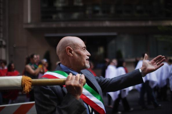 Фоторепортаж о параде в день Колумба в Нью-Йорке. Фото: Spencer Platt / Getty Images