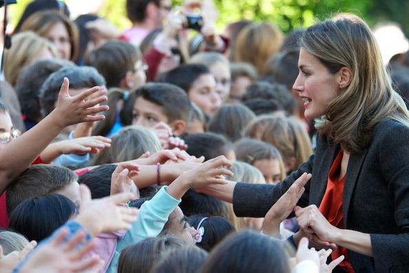 Фоторепортаж о принце и принцессе Испании Фелипе и Летиции в Ла-Гранха-де-Сан-Ильдефонсо. Фото: Carlos Alvarez/Getty Images