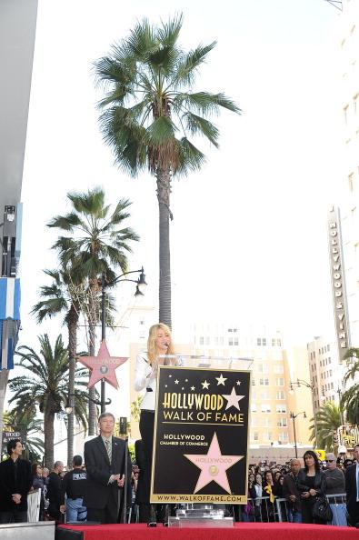 Фоторепортаж о Шакире на Аллее славы в Голливуде. Фото: FREDERIC J. BROWN/AFP/Getty Images
