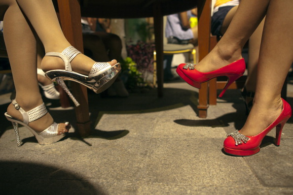 За кулисами показа мод в Мьянме. Фото: Paula Bronstein /Getty Images