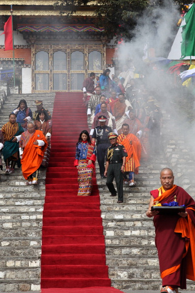 Королевская свадьба состоится в королевстве Бутан. Фото: Paula Bronstein /Getty Images