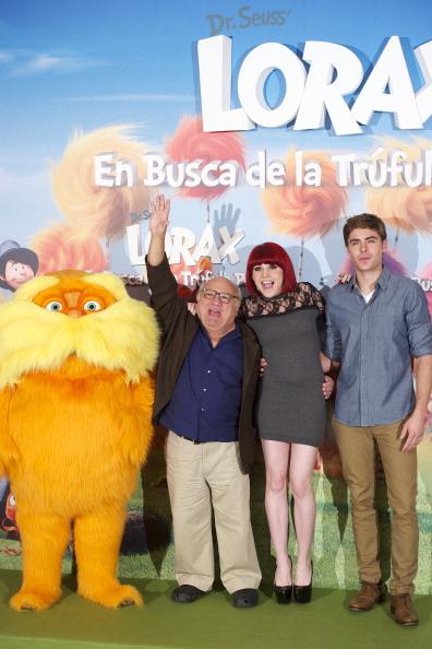 Дени де Вито, Лоракс и другие в фотосессии в мадридском отеле. Фоторепортаж. Фото: Carlos Alvarez/Getty Images