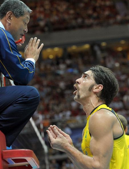 Cборная России по волейболу выиграла  Мировую лигу.  Фоторепортаж с  финального матча. Фото: JANEK SKARZYNSKI/AFP/Getty Images