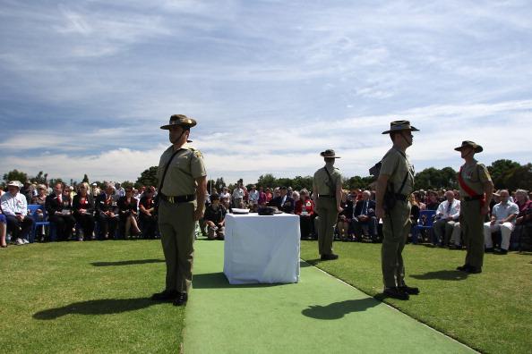 День памяти отмечается в Австралии. Фоторепортаж из Аделаиды.  Фото: Morne de Klerk/Getty Images
