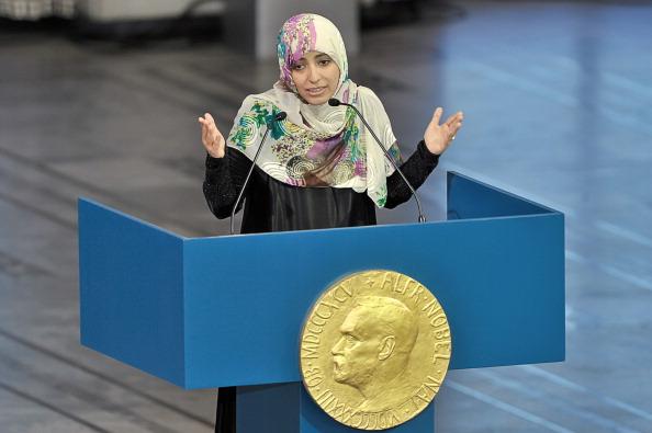 Фоторепортаж c церемонии награждения лауреатов Нобелевской премии в Осло. Фото: Nigel Waldron/Getty Images
