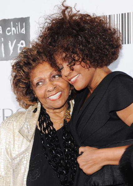 Уитни Хьюстон. (Cissy Houston и Whitney Houston). Фото: Getty Images