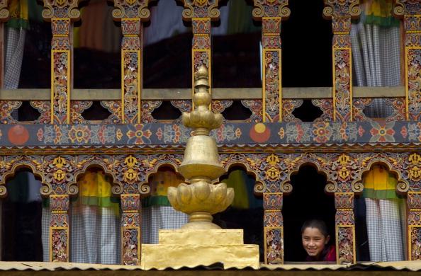 Королевская свадьба в Бутане. Фоторепортаж с церемонии бракосочетания. Фото: Paula Bronstein / Getty Images