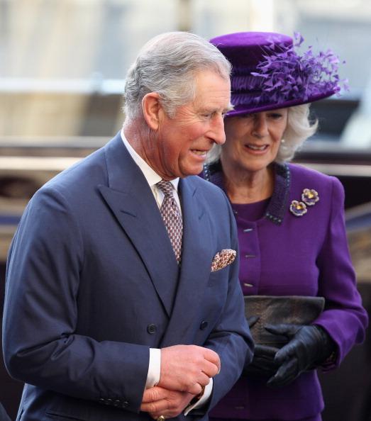 Королевская семья Великобритании отметила День Содружества. Принц Чарльз с супругой Камиллой, герцогиней Корнуэльской. Фоторепортаж.  Фото:  Leon Neal-WPA Pool/Getty Images