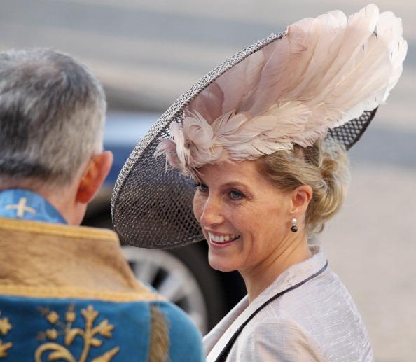 Королевская семья Великобритании отметила День Содружества. София, графиня Уэссекская. Фоторепортаж.  Фото:  Leon Neal-WPA Pool/Getty Images