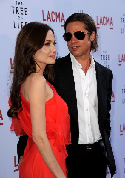 Анджелина Джоли и  Брэд Питт – семь лет вместе. Brangelina в фотографиях.  Фото: Getty Images