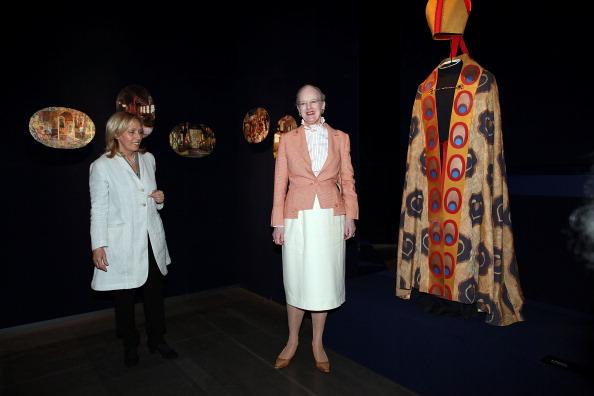 Королева Дании Маргрете II присутствовала в Риме на открытии выставки «Дикие лебеди».  Фоторепортаж. Фото: Franco Origlia/Getty Images
