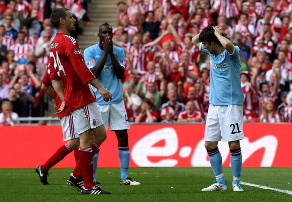 Фоторепортаж с матча «Манчестер Сити» «Сток Сити». Фото: Shaun Botterill/Alex Livesey/Mike Hewitt/Getty Images