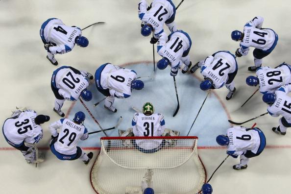 Сборная России проиграла финнам полуфинальный  матч  со счетом 3:0.   Фоторепортаж с матча.  Фото:  Martin Rose/Bongarts/Getty Images