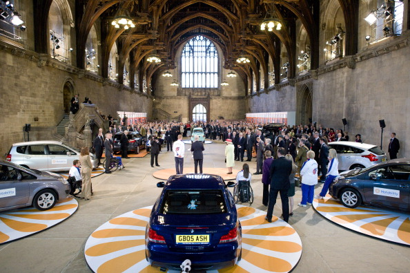 Королева Елизавета II посетила мероприятие в честь трехмиллионного автомобиля Motability. Фото: Geoff Pugh - WPA Pool/Getty Images