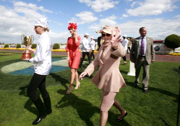 В скачках на Кубок Колфилда победил жокей Крейг Уильямс. Фоторепортаж из Мельбурна. Фото: Luis Ascui/Getty Images