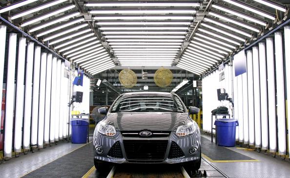 Фоторепортаж c автомобильного завода Ford электрических  и гибридных транспортных средств. Фото: Bill Pugliano/Getty Images