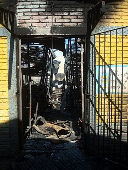 В пожаре в Гондурасе погибли 350 заключенных. Фоторепортаж. Фото: ORLANDO SIERRA/AFP/Getty Images