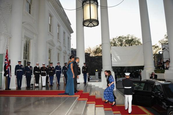 Гости на приеме в Белом доме. Фоторепортаж. Фото: Brendan Hoffman, MANDEL NGAN/AFP/Getty Images