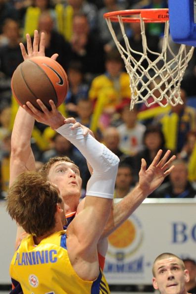 «Химки» выиграли Кубок Европы и попали в Евролигу. Фоторепортаж. Фото: KIRILL KUDRYAVTSEV/AFP/Getty Images