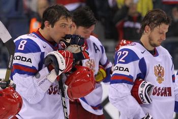 Символическая сборная чемпионата мира по хоккею осталась без россиян. Фото:  Martin Rose/Bongarts/Getty Images