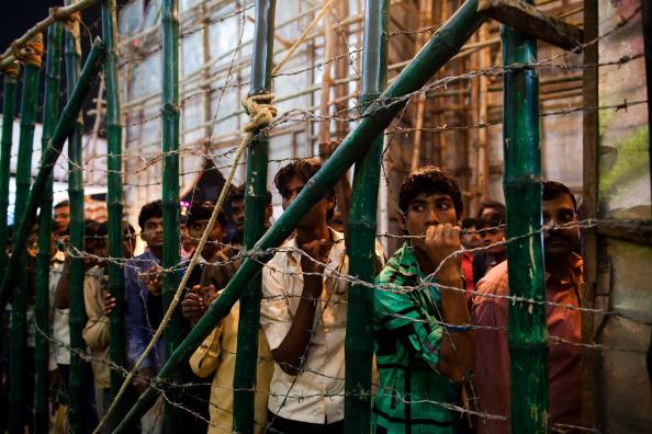 В Индии началась ярмарка-продажа крупного рогатого скота.  Фоторепортаж из Бихара. Фото: Daniel Berehulak/Getty Images