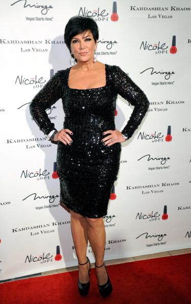 На открытии семейного бутика Kardashian Khaos в Лас-Вегасе. Крис Дженнер (по первому браку Кардашян). Фото: Ethan Miller/Getty Images