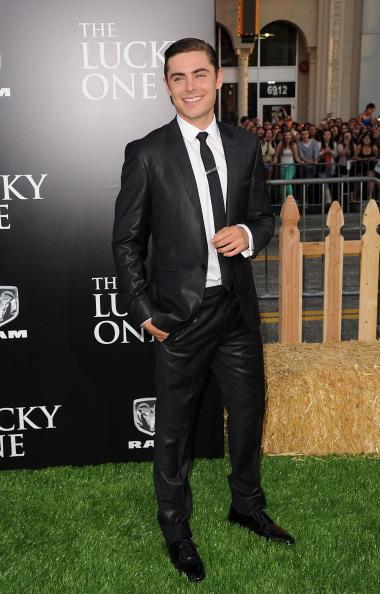 Актёр Зак Эфрон (Zac Efron)на премьере кинофильма «Счастливчик» в китайском кинотеатре Grauman в Голливуде. Фоторепортаж. Фото: Jason Merritt / Getty Image