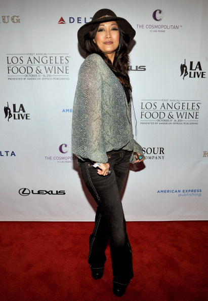 Гости на фестивале продуктов питания и вин  в Лос-Анджелесе. Фото: John Sciulli/Getty Images for DCP