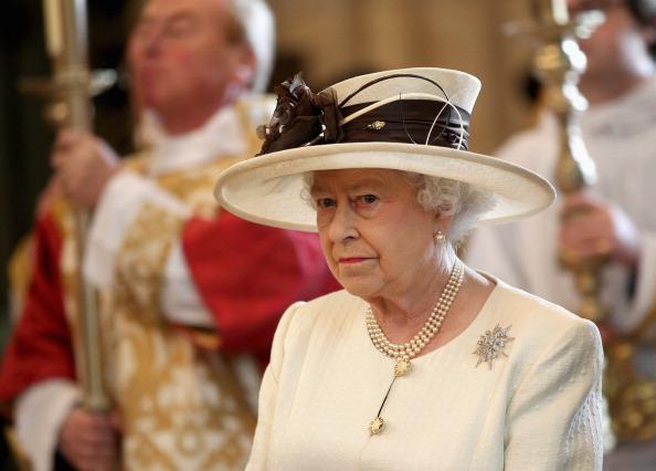 Королева Елизавета II на праздновании 400-летия Библии короля Джеймса. Фото: Chris Jackson - WPA Pool/Getty Images