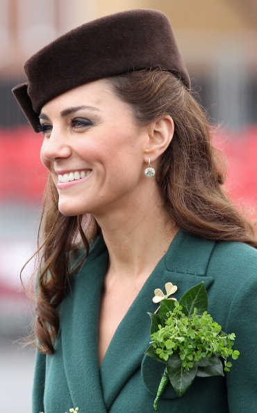 Кэтрин, герцогиня Кембриджская, присутствовала на  параде в День Святого Патрика. Фоторепортаж. Фото: Chris Jackson/Getty Images
