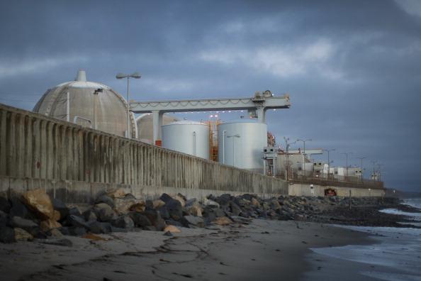 Блок ядерного  объекта АЭС San Onofre в Калифорнии.  Фоторепортаж. Фото: David McNew/Getty Images