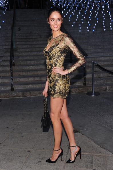 Модель Николь Трунфо (Nicole Trunfio) на вечеринке Vanity Fair в честь открытия кинофестиваля Tribeca-2012. Фоторепортаж. Фото: Jamie McCarthy / Getty Image