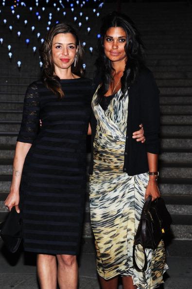 Дрена Де Ниро (Drena De Niro) и Рэйчел Рой (Rachel Roy) на вечеринке Vanity Fair в честь открытия кинофестиваля Tribeca-2012. Фоторепортаж. Фото: Jamie McCarthy / Getty Image