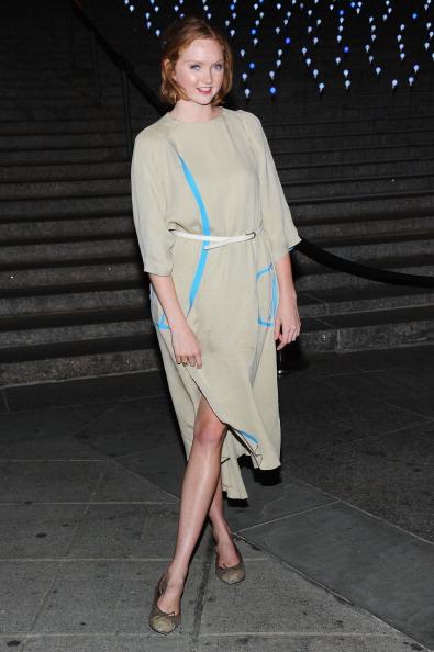 Лили Коул (Lily Cole) на вечеринке Vanity Fair в честь открытия кинофестиваля Tribeca-2012. Фоторепортаж. Фото: Jamie McCarthy / Getty Image